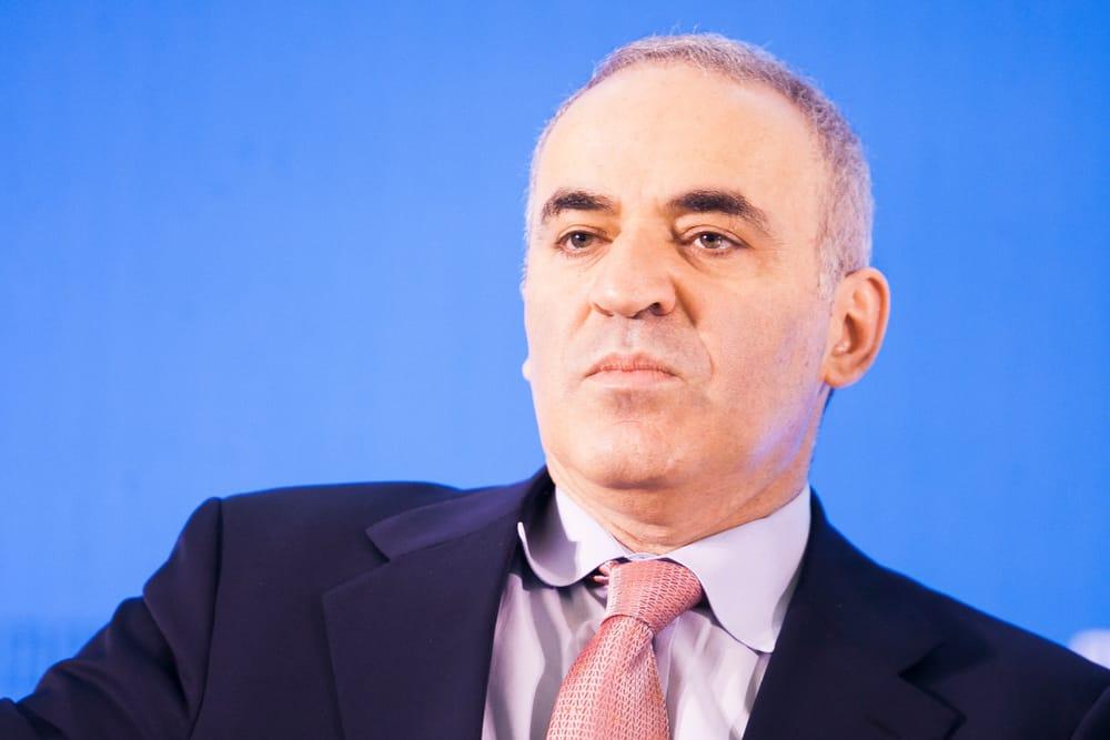 Garry Kasparov, former World Chess Champion