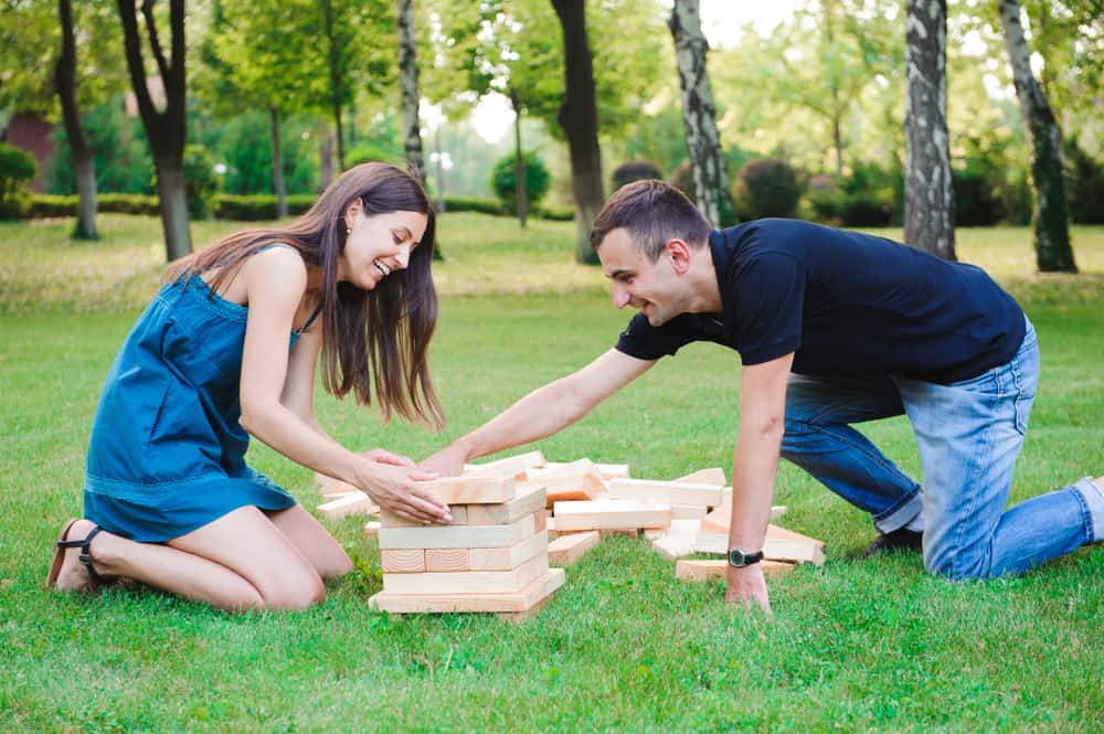 Giant Outdoor Block Game