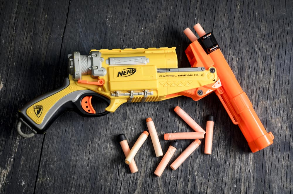 Nerf was founded in 1969 and is currently owned by Hasbro twister