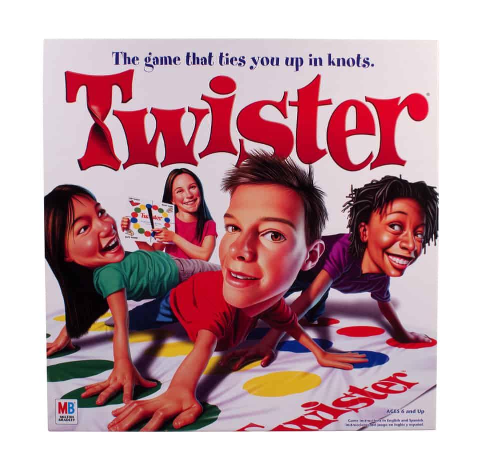 Twister game box by Milton Bradley
