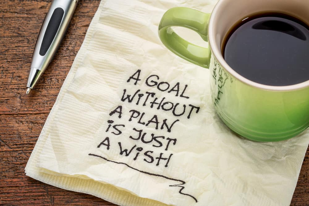 a goal without a plan is just a wish chess