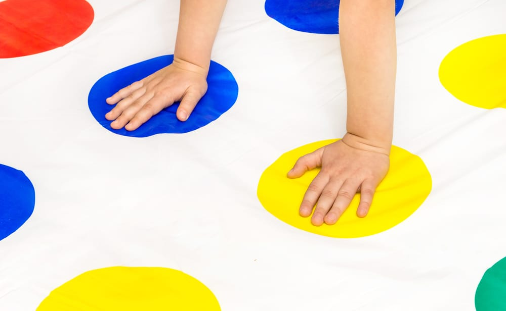 hands on twister game