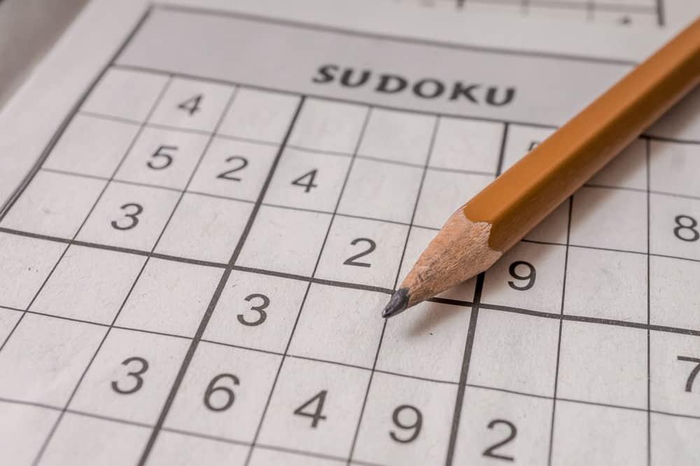 pencil for solving sudoku