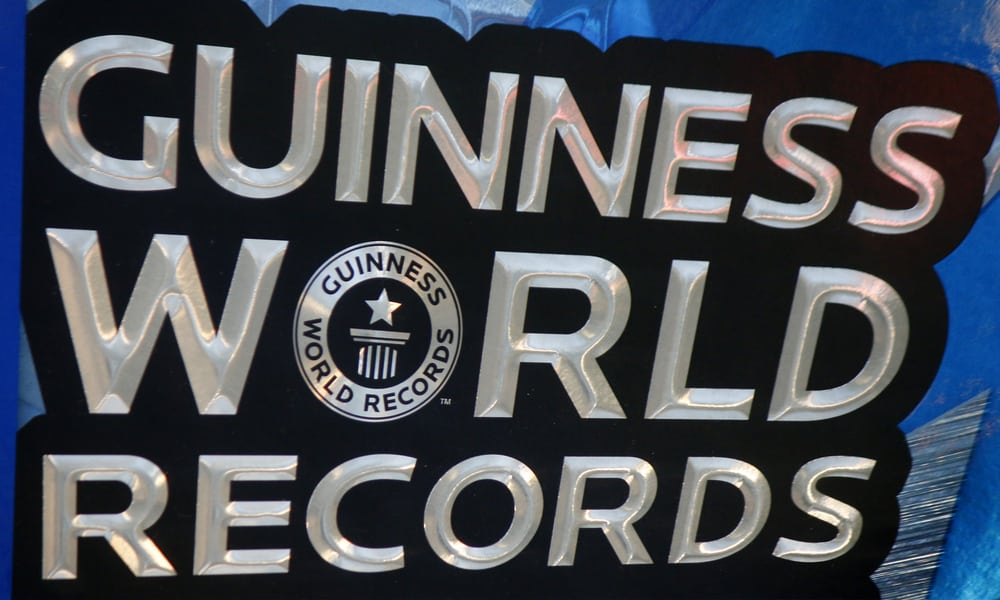 the logo of the brand Guiness World Records sudoku
