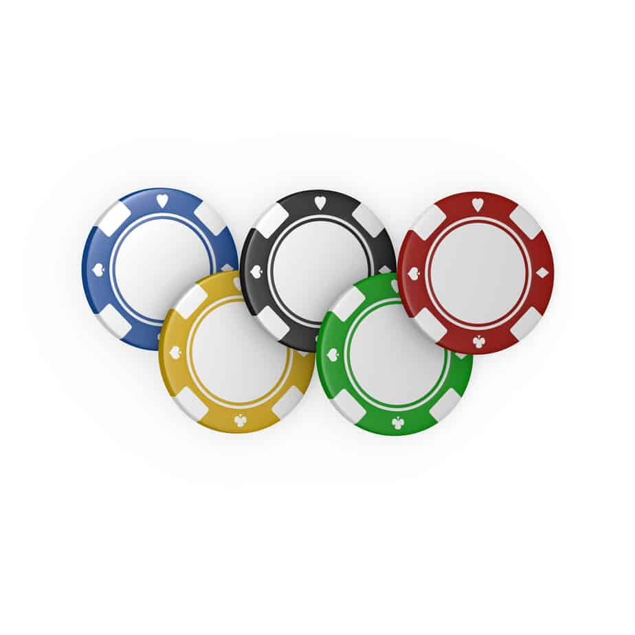 5 five olympic fiches poker