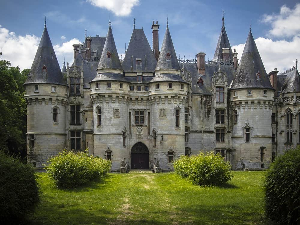 The Chateau de Vigny built in 1504