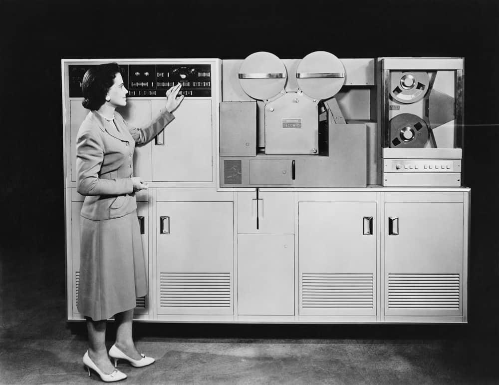 1950's computer - checkers