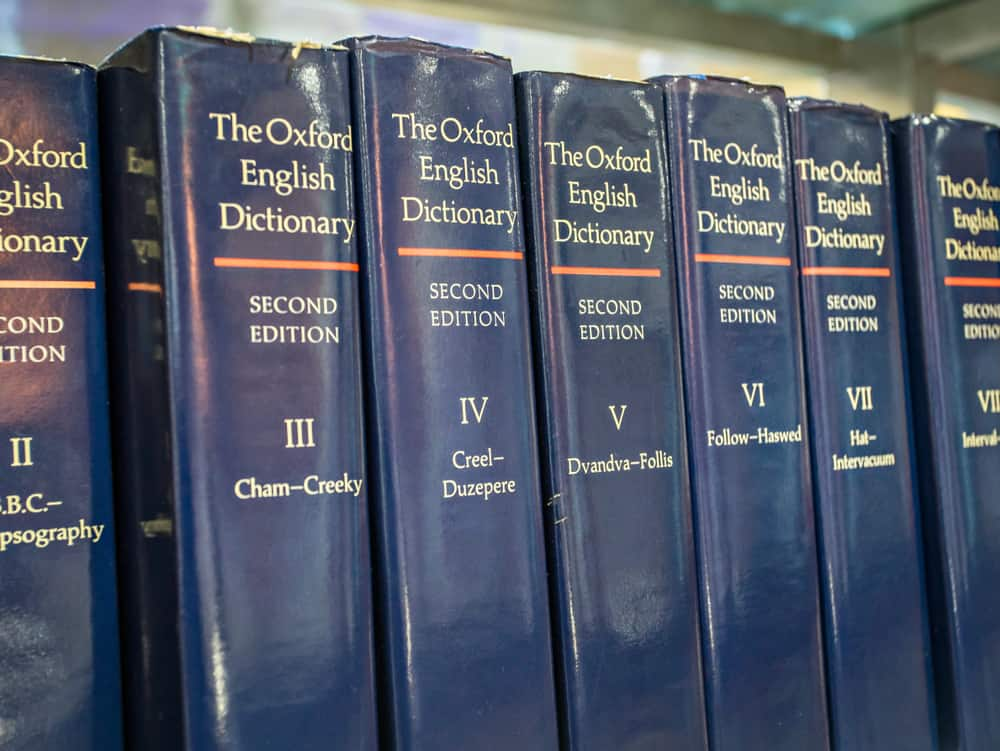 Oxford dictionary in Indonesia National Library