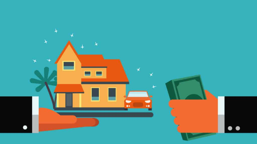Borrowing money to buy properties and cars