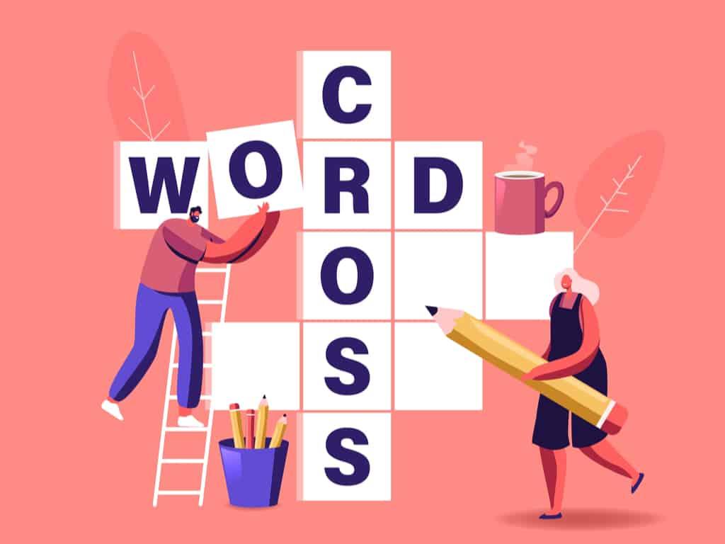 Crossword Puzzle Solving Concept