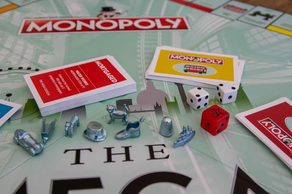 Mega Edition Monopoly board game (Hasbro games)