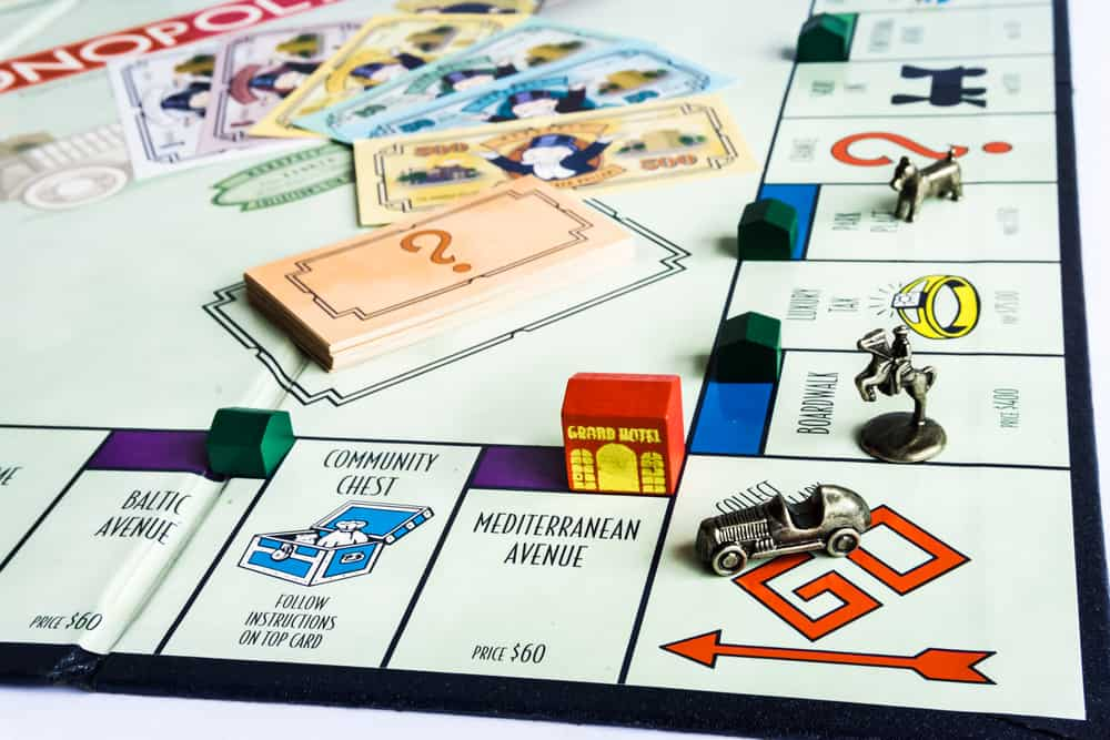 Monopoly Property Trading board game from Parker Brothers