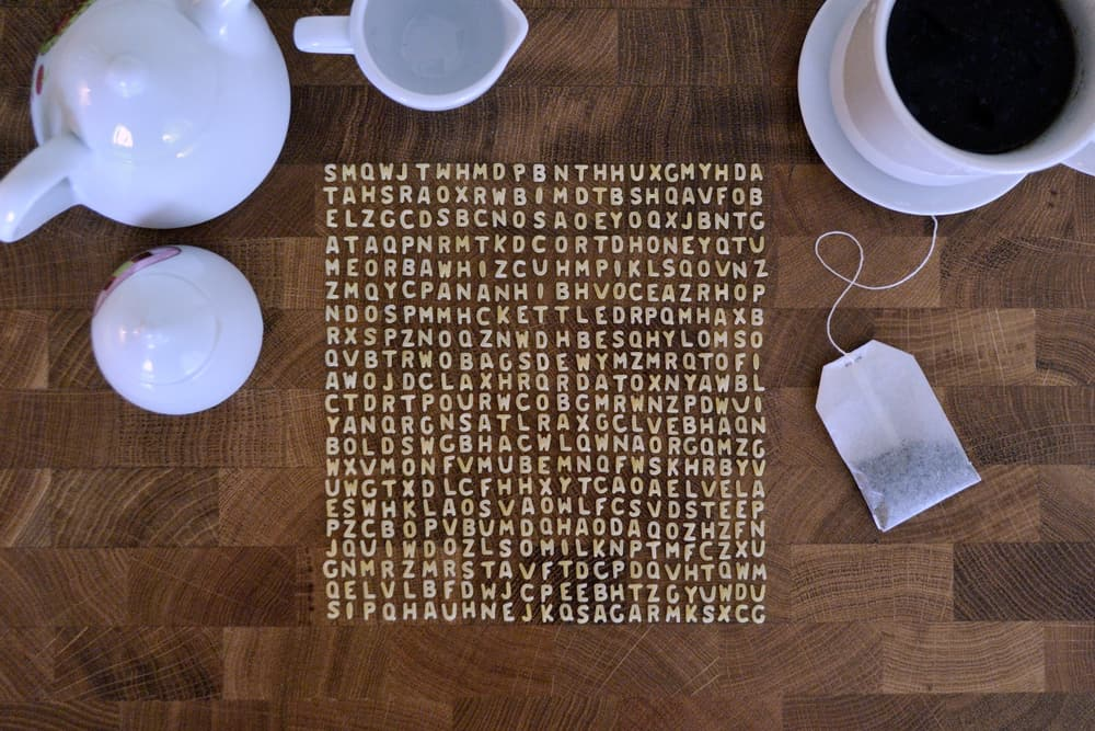 A Tea Inspired Word Search