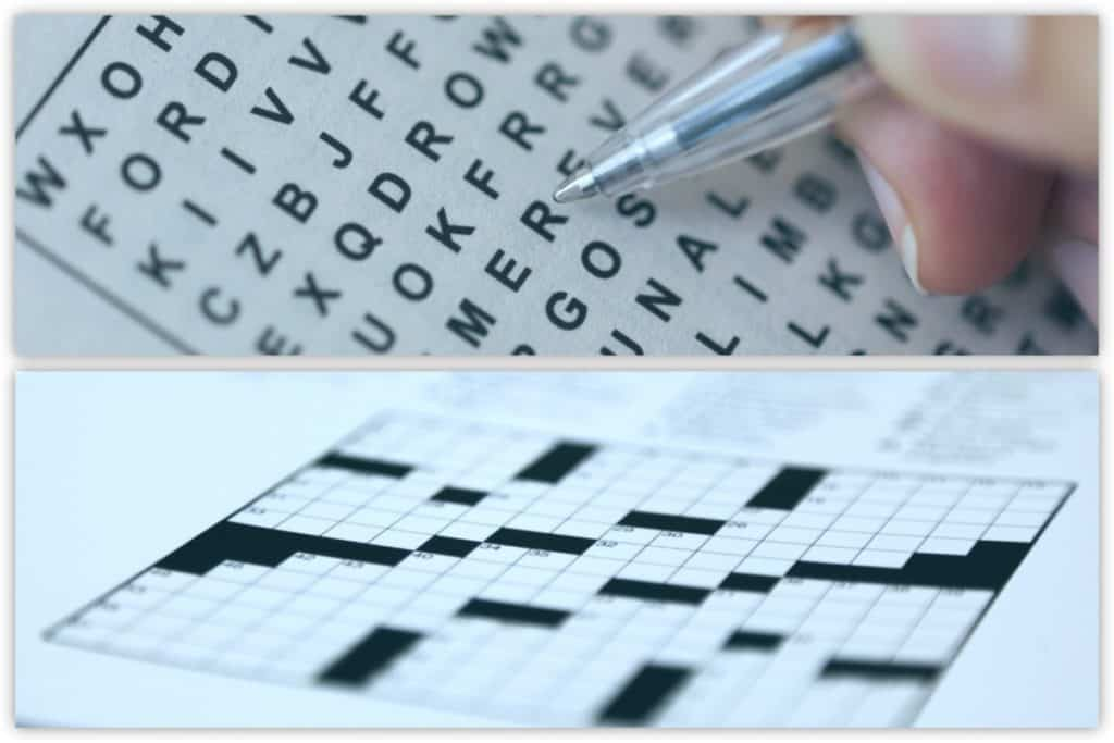 Word Search vs Crossword