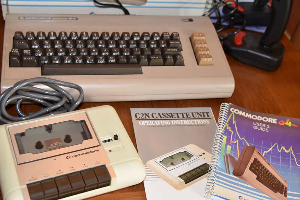 Commodore 64 early personal computer introduced in 1982