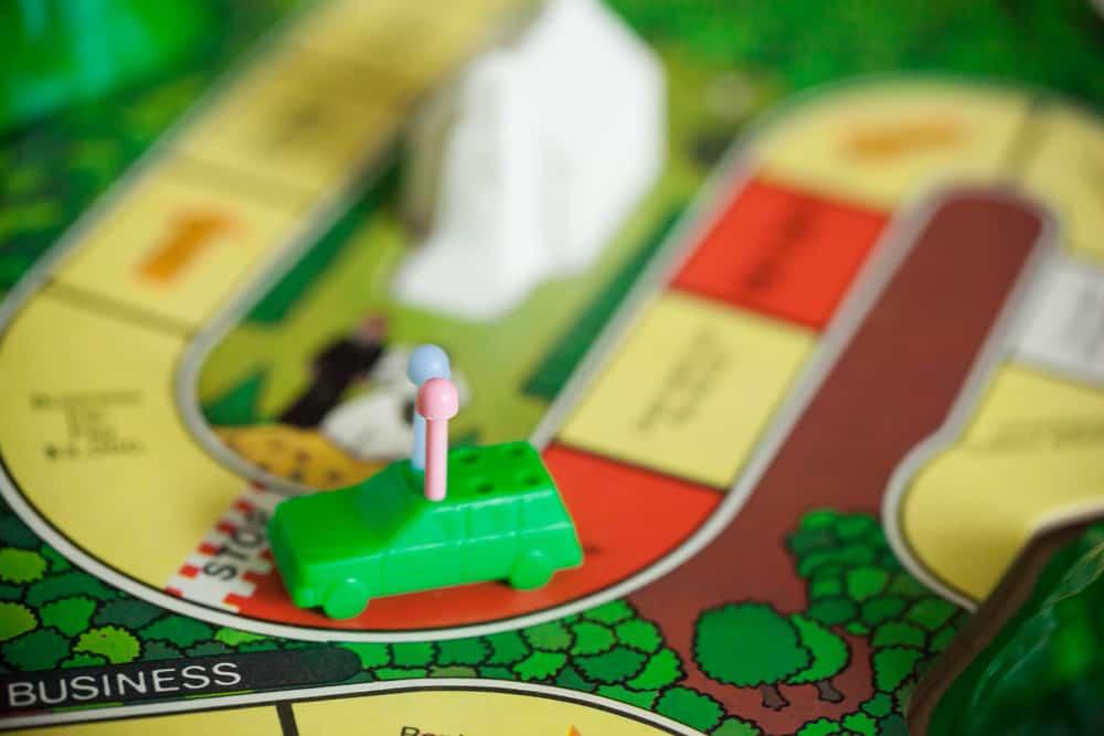 Board Game, Life - green token
