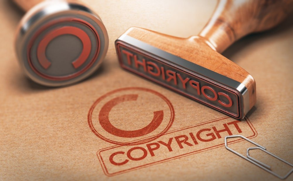 Concept of copyrighted material