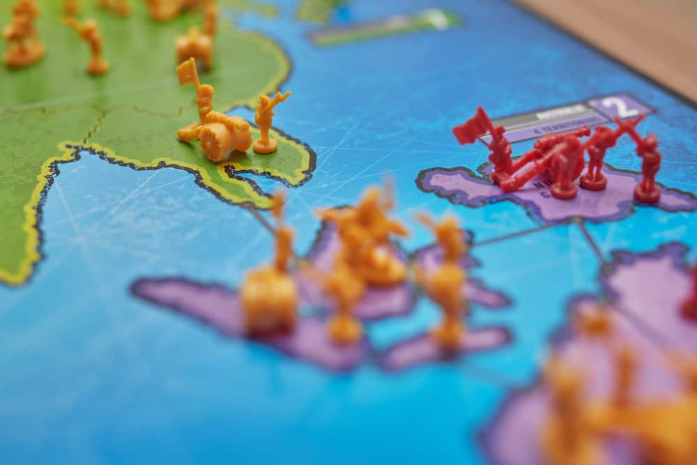 Risk - Asia and Oceania Continent