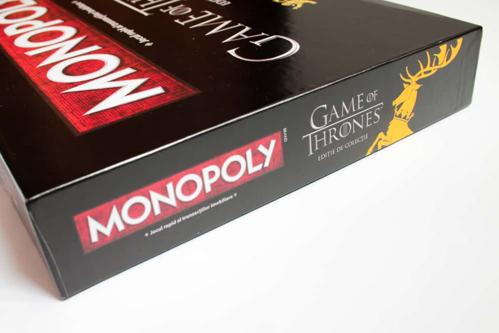 Game of Thrones Edition Monopoly Board Game