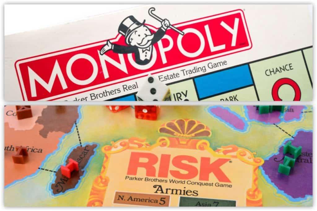 Monopoly vs Risk