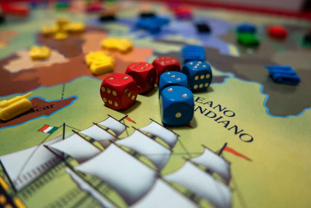 Risk, a strategy board game, Italian variant of Risk