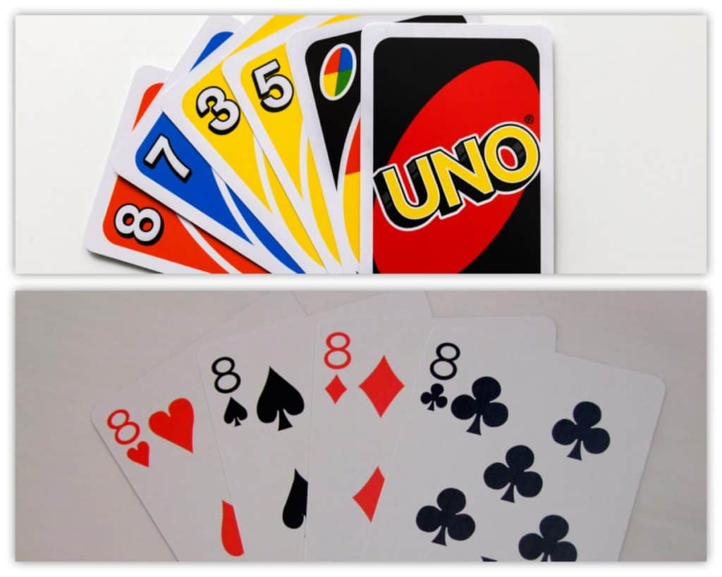 Uno vs Crazy Eigths (Card Games) 1