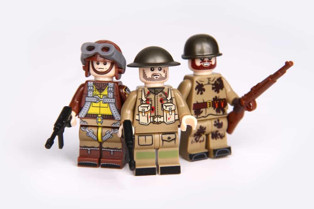 World War 2 Series; Portrait of The Allies soldier in Action
